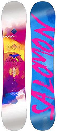 SALOMON Lotus Femenino Plano Multicolor Tabla Snowboard - Tablas de Snowboard (Todoterreno, Adulto, Femenino, Plano, Multicolor, Imagen)