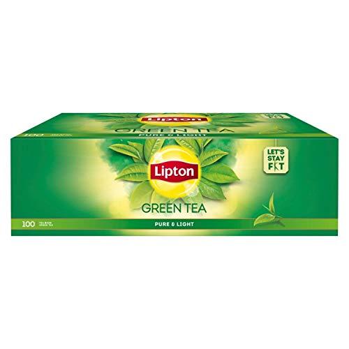 Lipton Pure & Light Green Tea Bags, 100 Pc