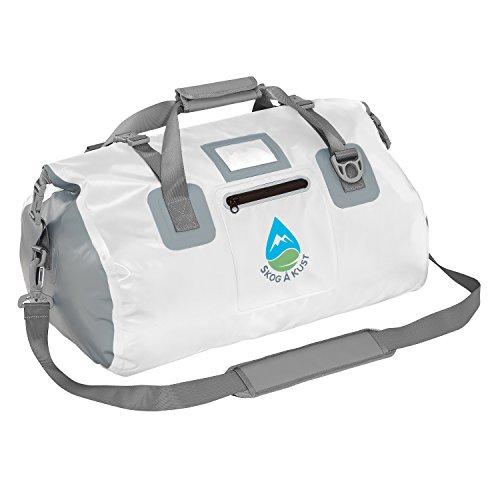 Skog Å Kust DuffelSak Waterproof Duffel Bag | 60L White