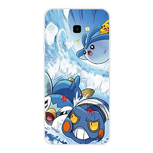BEEFUN Pokémon Clear TPU Case Phone Cover for Coque Samsung Galaxy A8 2018 Picture V178
