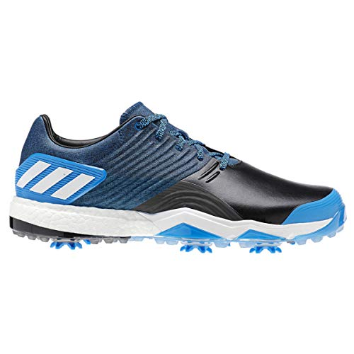 adidas Herren Adipower 4orged Golfschuhe, Schwarz (Negro/Azul/Blanco Ac8261), 42 2/3 EU