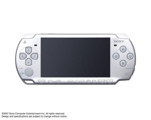 PSP「プレイステーション・ポータブル」 アイス・シルバー (PSP-2000IS) 【メーカー生産終了】の詳細を見る