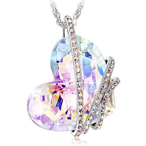 Kami Idea Collar Regalos para Mujer - VELURIYA - Aurore Bareale Cristales,...