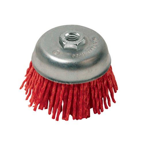 Silverline 220410 Nylon Filament Abrasive Cup Brush Coarse - 100
