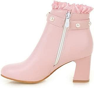BalaMasa Womens ABS14104 Pu Boots