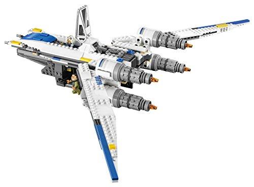 Vaisseau Rebelle Chasseur U-Wing Fighter LEGO Star Wars 75155 - 659 Pièces - 8