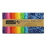 Timeless Treasures Tonga Treats Batiks 5'' Square Pack 40