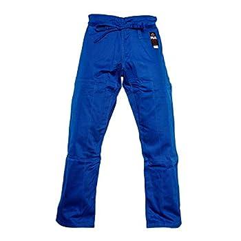 FUJI BJJ Gi Pants Cotton Jiu-Jitsu Pants with Flat Drawstrings