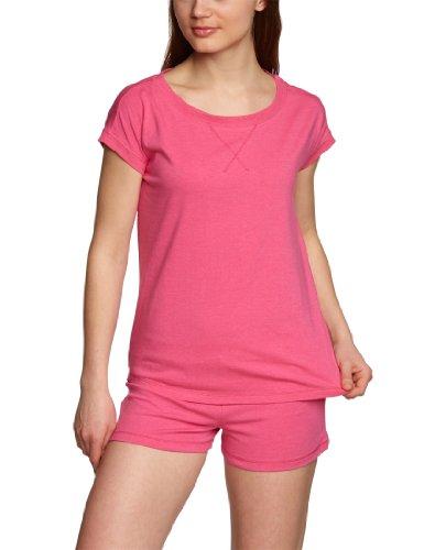 BeeDees Damen T-Shirt Cosy Label S Shirt , Gr. 36, Pink (PINK MELANGE (WG))