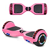 cho Hoverboard Hover Board Electric Scooter Two-Wheel Smart Self Balancing Speaker (Solid Pink)