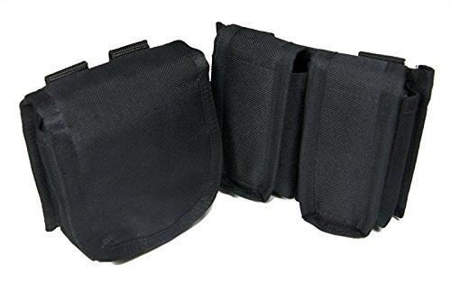 SWAT SYSTEM x Z.A.N 【SH13 SH Hand Gun Mag Pouch 2set】 Black (黒)