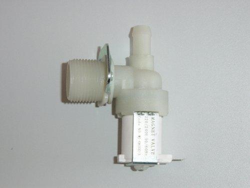Ersatzteiltresen Magnetventil Zulaufventil Ventil Waschmaschine für AEG Lavamat Privileg Alternativersatzteil 1fach 90 Grad 11,5mm