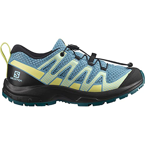 Salomon XA Pro V8 Kinder Trailrunning-Schuhe, Blau (Delphinium Blue/Black/Charlock), 39 EU