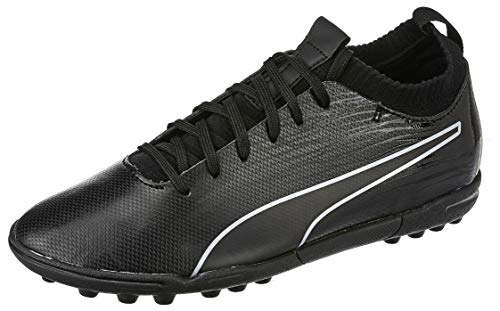 PUMA Mens Evoknit Astro Turf Trainers Football Boots Triple...