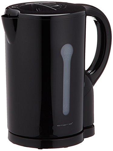 Emerio Wasserkocher, 1.7L, Kunststoff, schwarz, 2200W