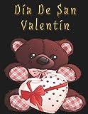 Día De San Valentín: Libro De Colorear Para Adultos