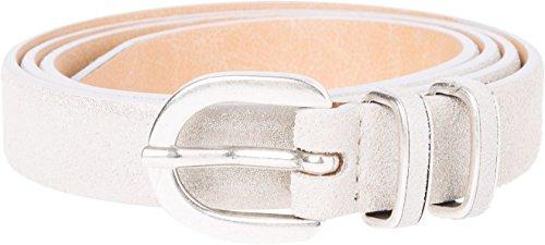 BRAX Damen Style Damengürtel Gürtel, OFFWHITE, 90 (Herstellergröße: 85)