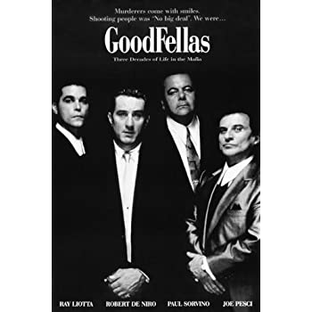 24x36 Poster Print Goodfellas Movie Sheet by Innerwallz