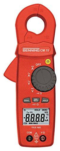 BENNING CM11 Zangenampermeter 4-Digits manuell Ja/Nein CAT IV 300V TRUE RMS 0,01-300V 0,01-300V 0,01-300V 0,01-300V Min/Max/Hold