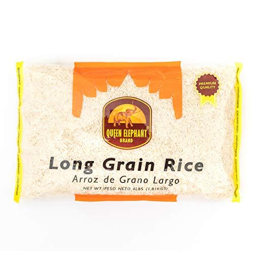 Queen Elephant White Rice Long Grain 64 oz