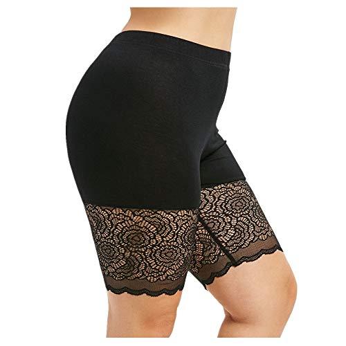 FRAUIT dames kant onderbroek skinny kortzak slip kortzakken naadloos ondergoed zacht comfortabele boxershorts korte legging boyshort naadloze boyshort