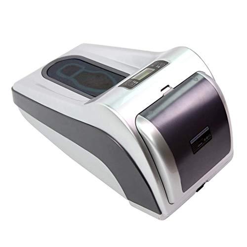 ZLXLX Indoor schoenafdekkingsmachine, automatische intelligente shoe film, led-display, warmtekrimpfunctie, bodembedekking, wegwerpapparaat