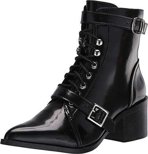 Steve Madden Astrid Lace-Up Boot Black 9