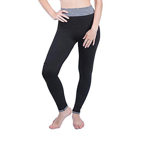 Pantalones De Malla De Moda Pantalones Deportivos Pantalones De Yoga Especial Estilo De Gasa Cintura Alta Jogging Leggings Ropa Deportiva Entrenamiento (Color : Negro, Size : S)