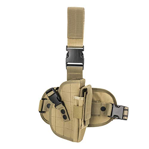Drop Leg Holster Universal Adjustable Military Army Tactical...