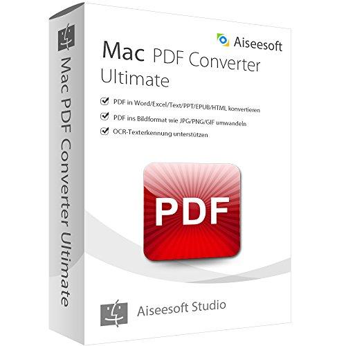 PDF Converter Ultimate MAC Vollversion (Product Keycard ohne Datenträger)