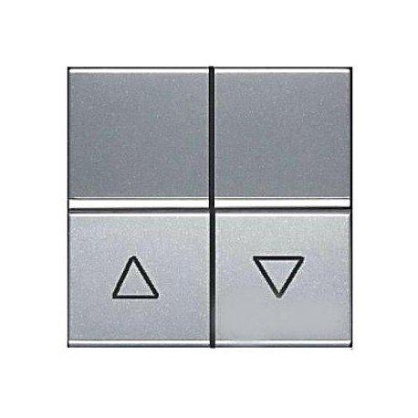 Niessen - n2244pl pulsador para persianas zenit plata Ref. 6522015113