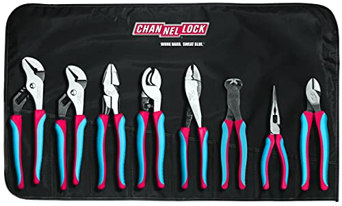 SK 7612 12 Piece Utility Grade .038-Inch.047-Inch.070-Inch and .090-Inch Straight 45 Degree and 90 Degree Convertible Retaining Ring Plier Set