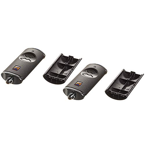 2 Hörmann Handsender Cover HSE2BS Leer Gehäuse ohne Batterie ohne Platine Ersatzteil Ober- und Unterschale