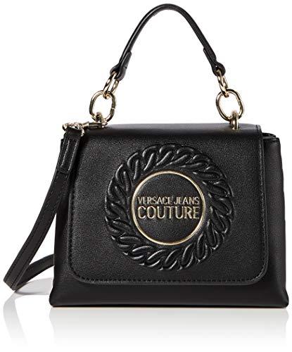 Versace Jeans Bag, Borsa a Mano Donna, Nero (Nero), 7x14x19 cm (W x H x L)