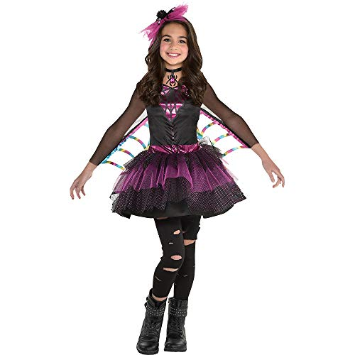 Girls Miss Wicked Web Spider Costume - Large (12-14)
