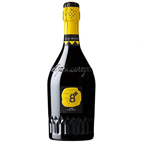 Sior Berto Vino Spumante Italiano Brut V8+ Spumanti e Champagne Vineyards 6 X 75