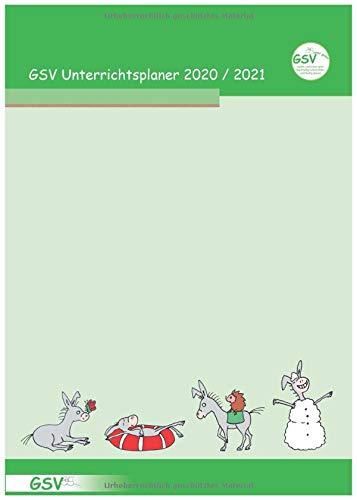 GSV Unterrichtsplaner Lehrerkalender für Grundschullehrer (DIN A4) 2020/21, Wire-O-Ringbindung