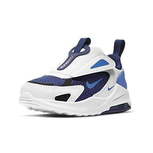 Nike Air MAX Bolt, Zapatillas Unisex niños, Blue Void/Signal Blue-White-Black, 23.5 EU