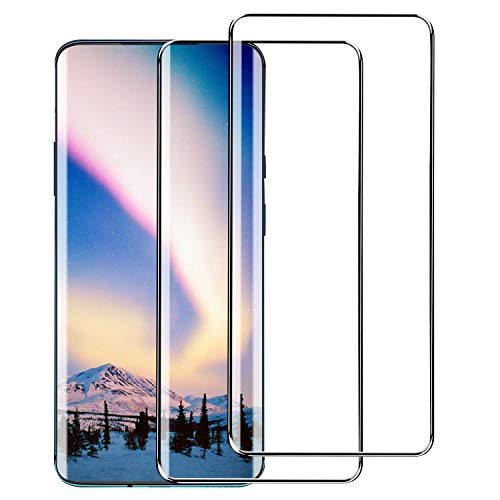 YRMJK [2 Pack] for Oneplus 7 Pro/Oneplus 7T Pro Screen Protector Tempered Glass, [9H Hardness] [3D Full Coverage][Anti-Scratch][Bubble Free] Tempered Glass for Oneplus 7 Pro/Oneplus 7T Pro