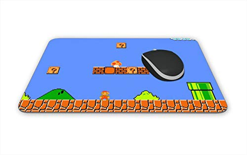 Super Mario Brothers Themed New Mouse Pads Mousepads for Mario Bros NES Fans Games