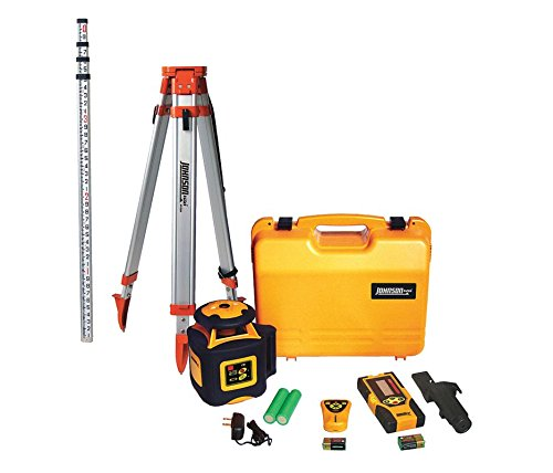 Johnson Level & Tool 40-6536 Horizontal Rotary Laser System