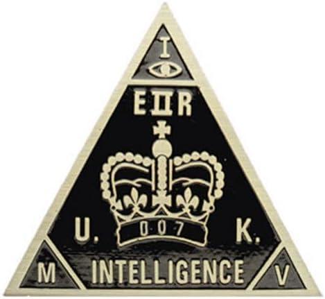 British Intelligence Agent 007 Badge product image