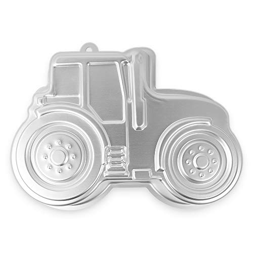 11inch Tractor Pattern Cake Pan for Party, Cake 3D Pan Car Baking Mold, Birthday Cake Pan for Kids