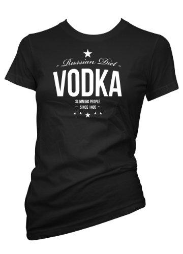 Chameleon kleding leuk wodka russisch dieet 701590 dames T-Shirt