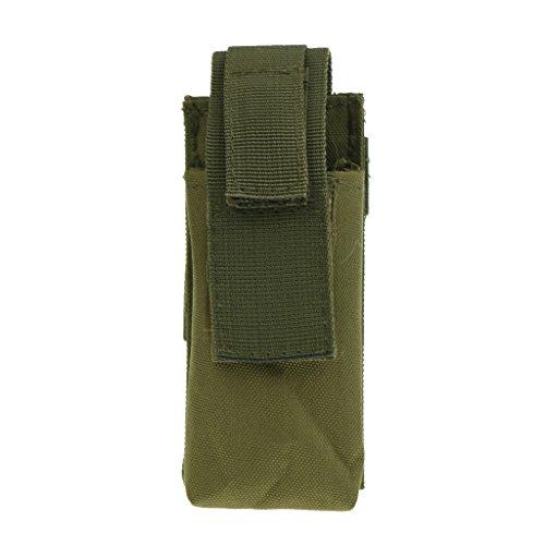 MagiDeal Sac pour Garrot Poche De Rangement Outil Cisaillère Médicale Boucle Réglable Pochette à Ciseaux Camping Randonnée - Verte, 130mm * 60mm * 35mm