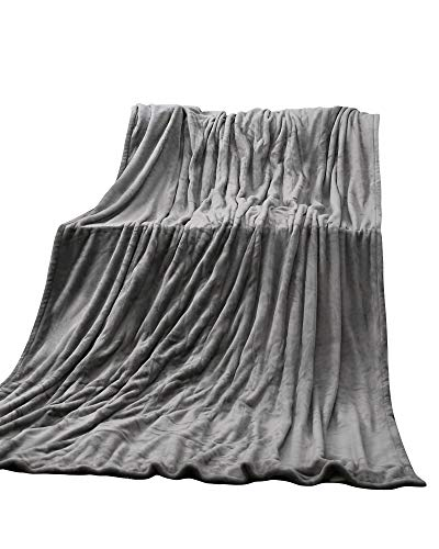 """Electric Heated Blanket Twin 62"""" x 84"""" Large Heating Throw Blanket with 4 Heating Levels & Timer 10 Hours Auto Off, Machine Washable, Warm Comfort Blanket for Home Office Bed Sofa"""