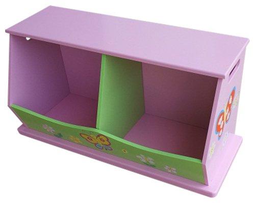 Liberty House Toys 2-bin opbergruimte voor meisjes