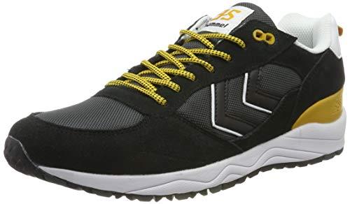 hummel Unisex-Erwachsene 3-S Hike Sneaker, Schwarz (Black 2001), 39 EU