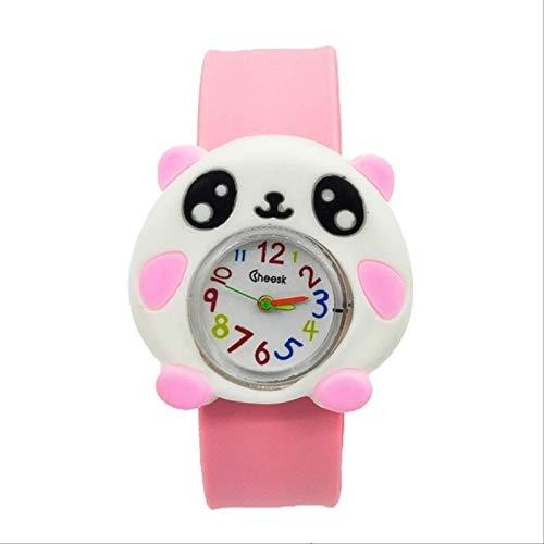 TIDRT Panda Children's Watch Fashion Kids Quartz Ver Niños Reloj Bebé Ver Regalos De Cumpleaños De La Fiesta De Navidad