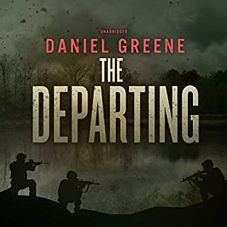 The Departing audiobook cover art